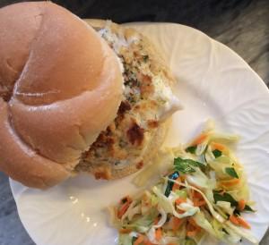 Crunchy Fish Sandwich