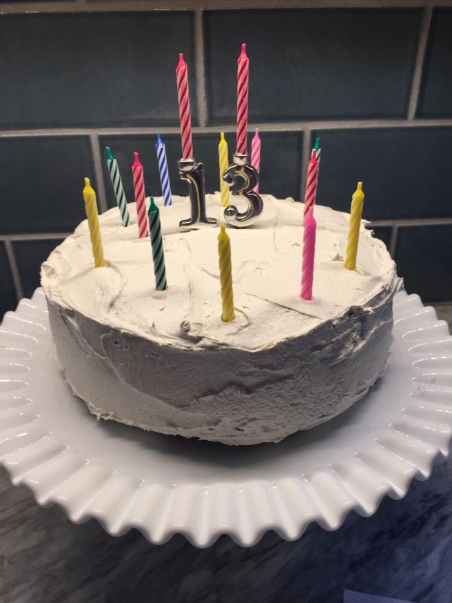 Happy 13th Birthday!
