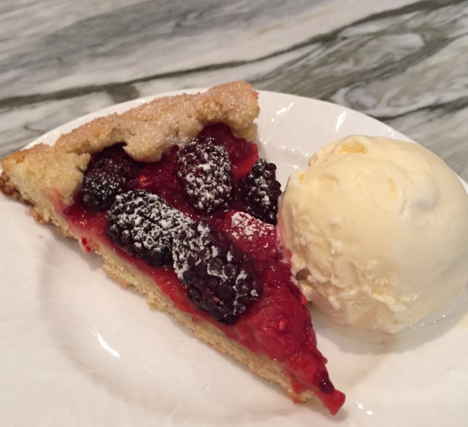 Mixed-Berry-Crostata-with-Ice-Cream