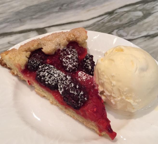Mixed-Berry-Crostata-with-Ice-Cream