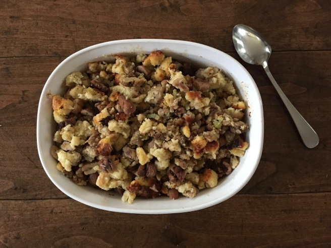 Chestnut and Sausage Stuffing