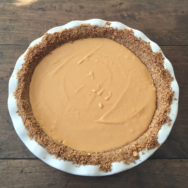 Unbaked sweet potato pie