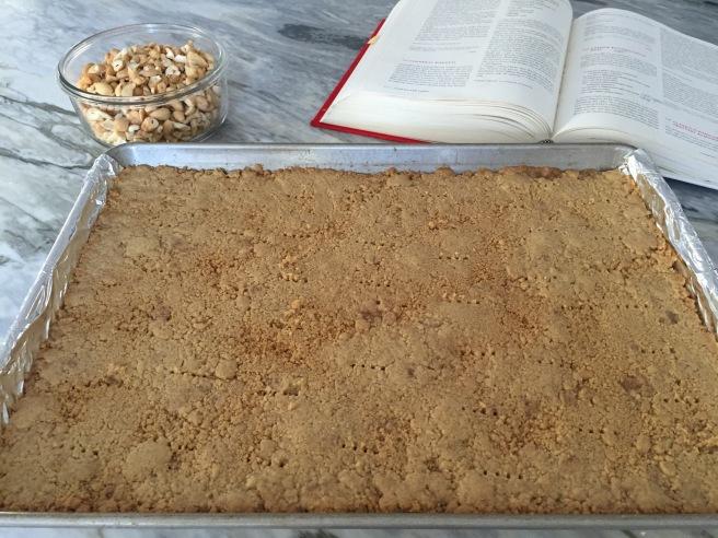 Butterscotch Bar cookie base
