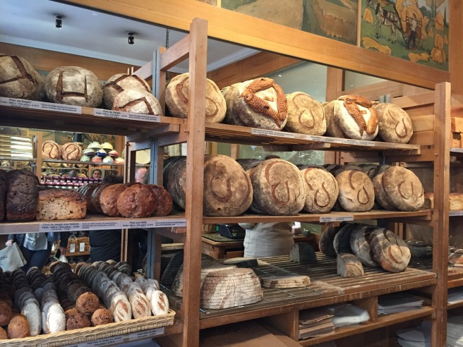 Display of loaves at Poilâne